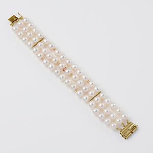 baroque Ruby bracelet